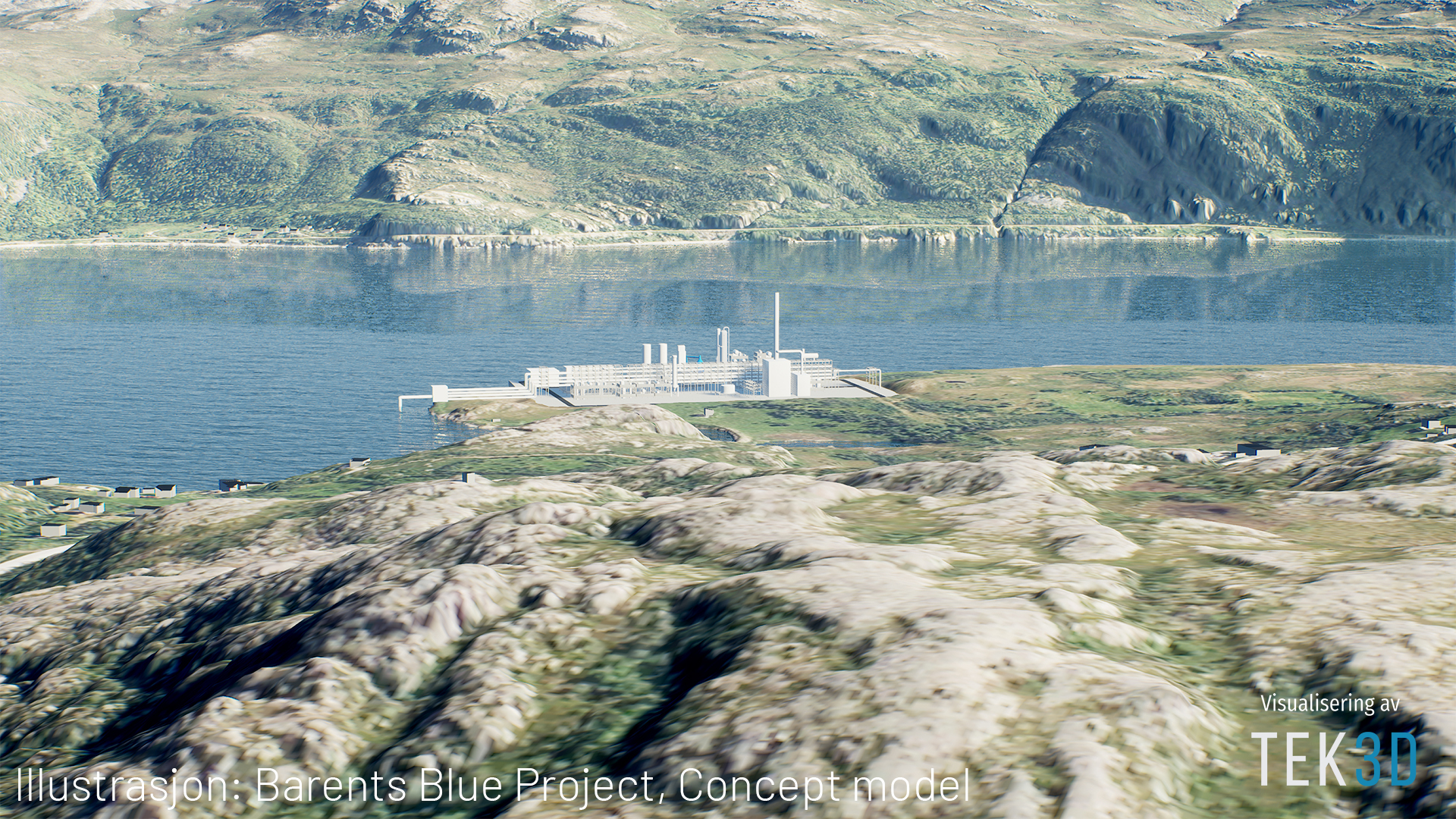 Horisont Energi chooses Hammerfest, Norway, as site for Europe's first large-scale carbon-neutral ammonia plant
